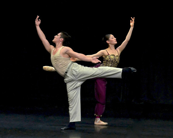 "The Ballet Collective/LA""The Golden Slave"""